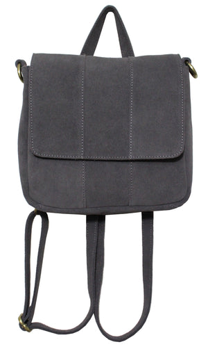 Alamo Convertible Backpack in Pebble