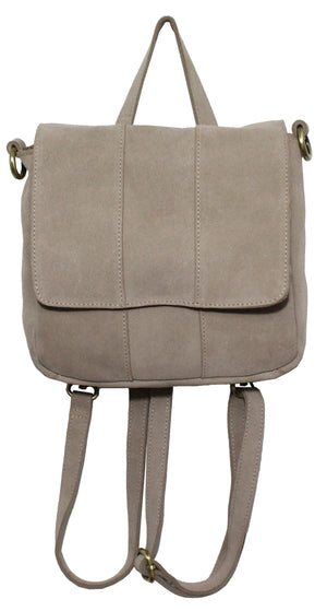 Alamo Convertible Backpack in Stone