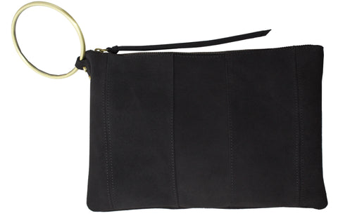 ALAMO CLUTCH IN BLACK