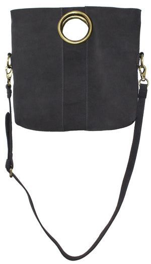 Alamo Foldover Crossbody in Pebble