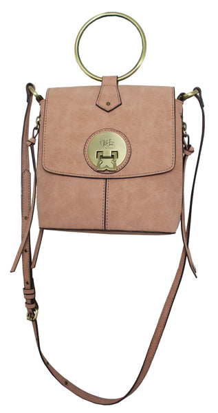 WEST WIND RING CROSSBODY IN PEACH DUST
