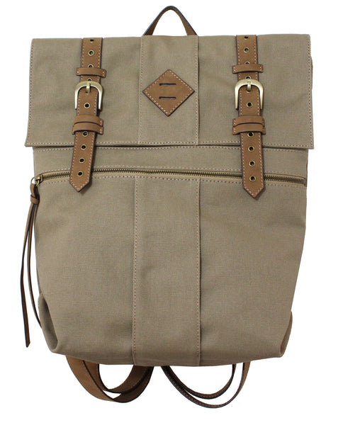 LOST HIGHWAY CANVAS BACKPACK IN OAK