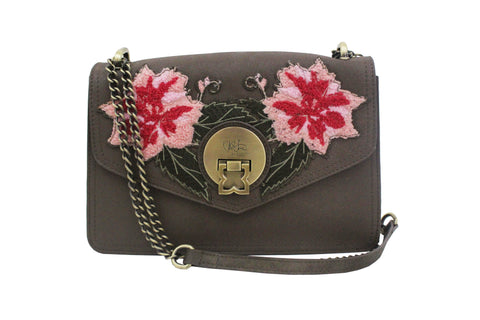 FLORAISON CROSS BODY IN SLATE