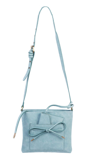 Waimea Bay Passport Crossbody in Blue