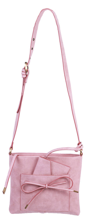 Waimea Bay Passport Crossbody in Pink