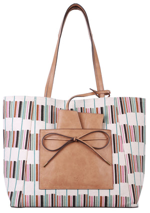Waimea Bay Tote in Stripes