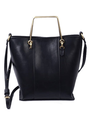 Waimea Bay Mini Tote in Black