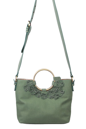 Painted Desert Ring Satchel in Sage