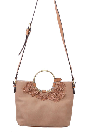 Painted Desert Ring Satchel in Dust