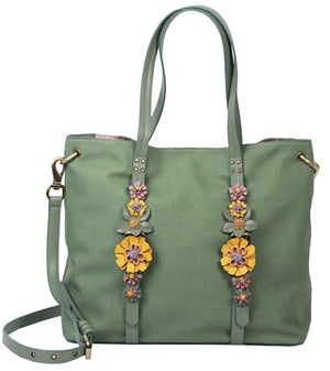 Painted Desert Tote in Sage