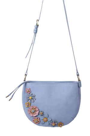 Painted Desert Crescent Crossbody in Sky