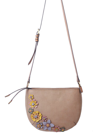 Painted Desert Crescent Crossbody in Dust
