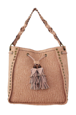 Baja Square Hobo in Desert Rose