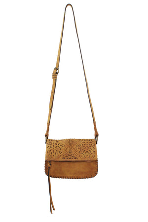 Amarillo Crossbody in Saddle