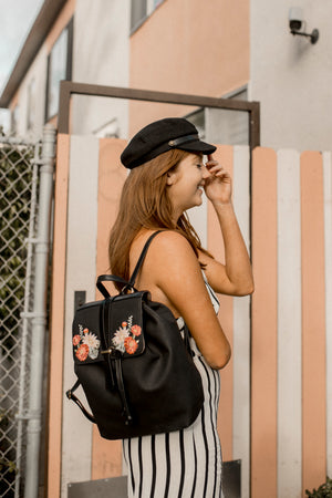 Painted Desert Backpack in Black