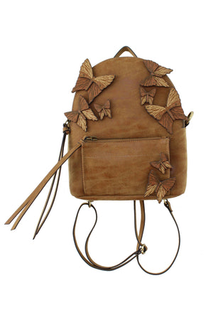 Parisian Nights Backpack in Knotty Oak