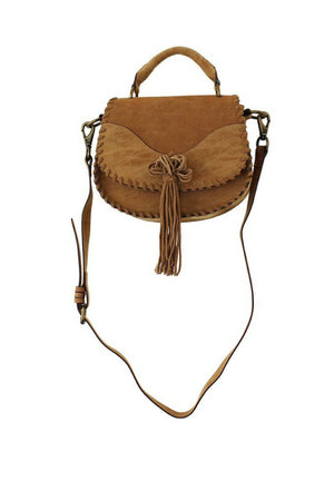 Madrid Saddle Bag in Sand