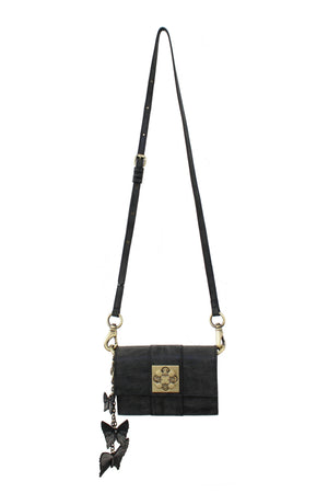 Parisian Nights Mini Crossbody in Black