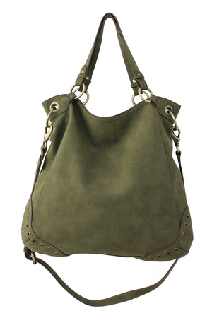 LOST HIGHWAY TOTE IN LODEN