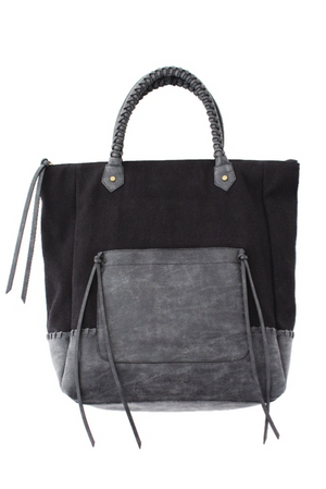 Madrid Tote in Black
