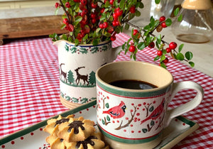 Berry Bird Mug and Plate