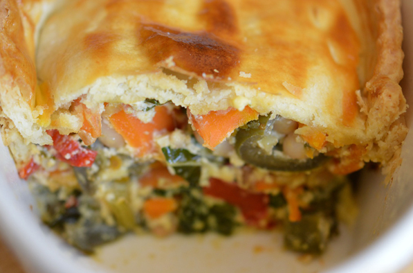 MULTI-MINI VEGGIE PIE