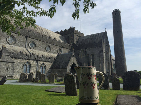 St Canices Catherdral Kilkenny Ireland Irelands Ancient East Nicholas Mosse pottery handcrafted spongeware