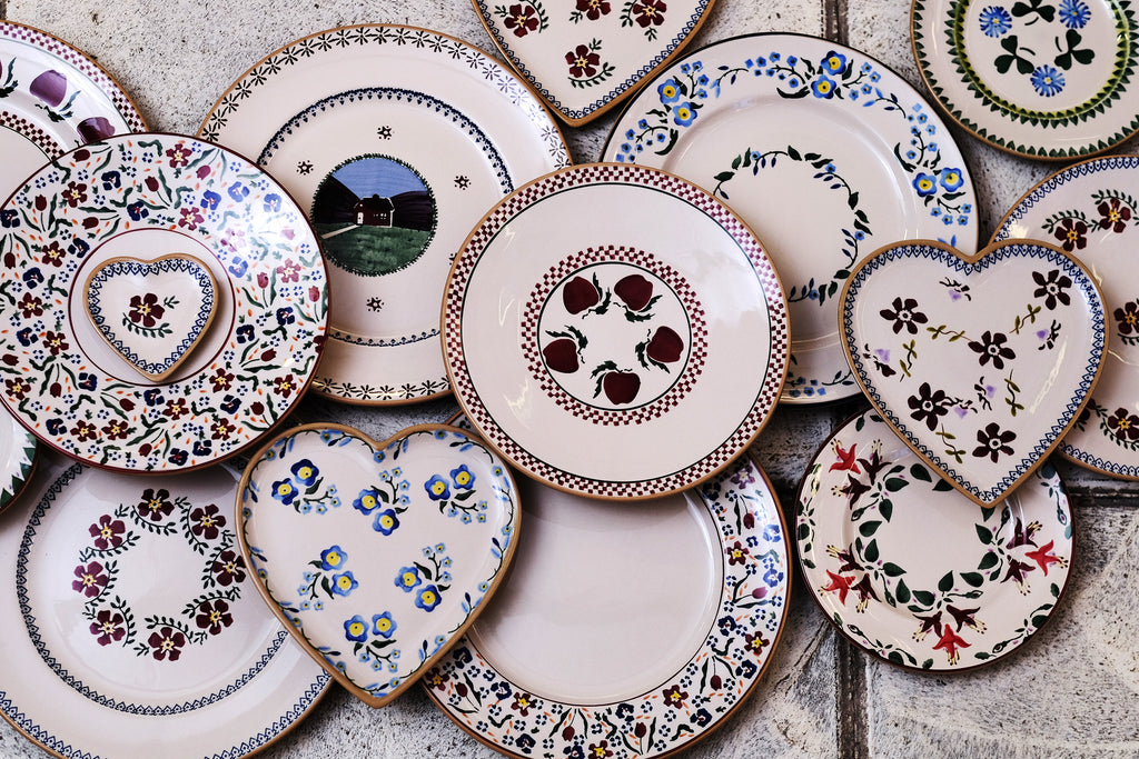 From serving breakfast in bed sharing lunch with a gathering of friends and family or presenting the main course at an exclusive dinner our plates will ... & Irish Pottery Plates | Handcrafted Pottery Plates | Nicholas Mosse ...