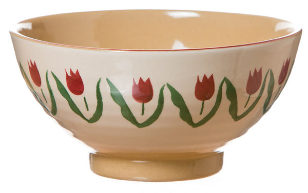 MEDIUM BOWL RED TULIP