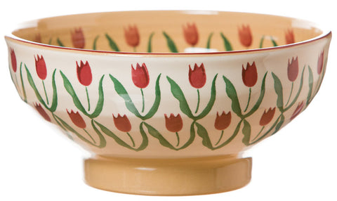 LARGE BOWL RED TULIP