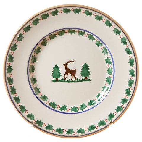 LUNCH PLATE REINDEER