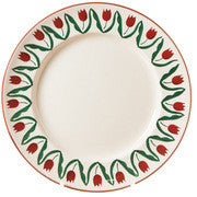 Nicholas Mosse Serving Plate Red Tulip Border