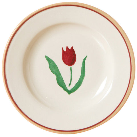 TINY PLATE RED TULIP