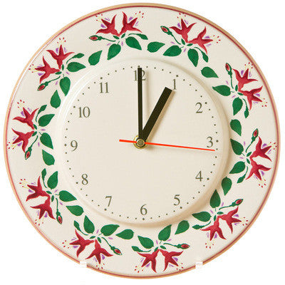 Kitchen Clock Fuchsia