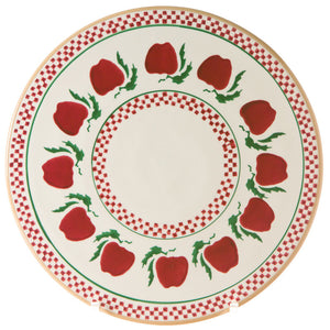 "Nicholas Mosse 9"" Footed Cake Plate Apple"