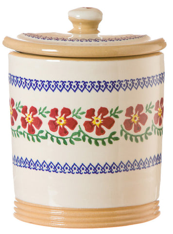 MEDIUM STORAGE JAR (2LB) OLD ROSE