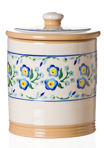 MEDIUM STORAGE JAR (2LB) FORGET ME NOT