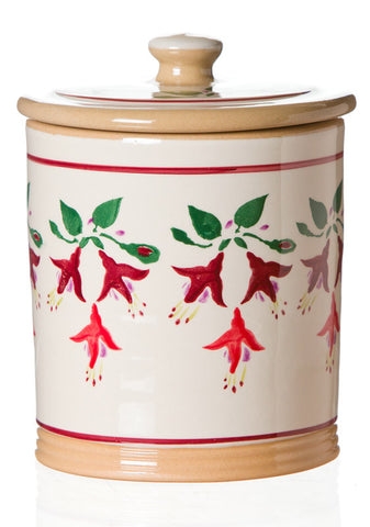 MEDIUM STORAGE JAR (2LB) FUCHSIA