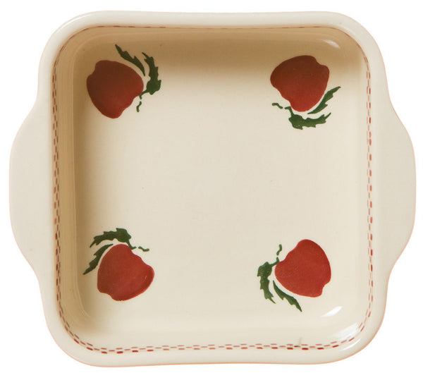 SMALL SQUARE OVEN DISH APPLE