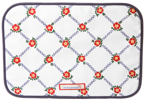 PLACEMAT OLD ROSE