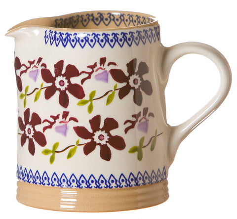 Nicholas Mosse Small Cylinder Jug Clematis