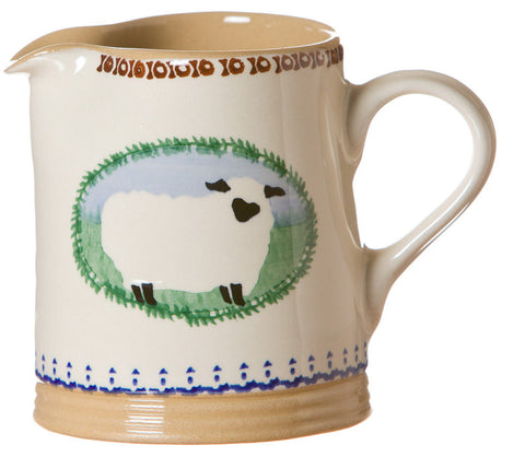 SMALL CYLINDER JUG SHEEP