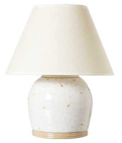 "7"" Lamp Lawn White Base Only"