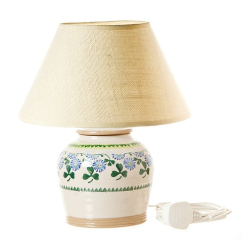 "Nicholas Mosse 7"" Lamp Clover Base Only"