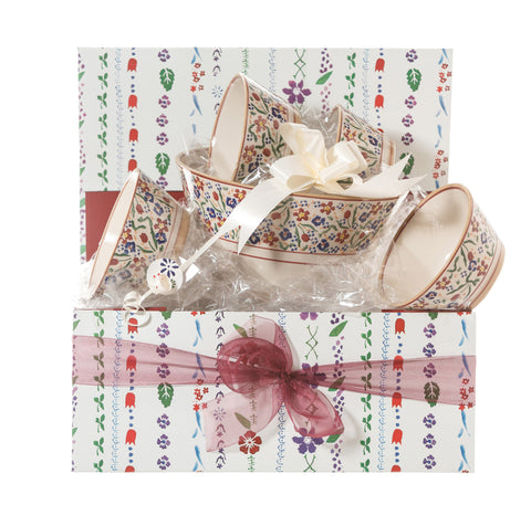 Nicholas Mosse Angled Bowl Gift Set Wildflower Meadow