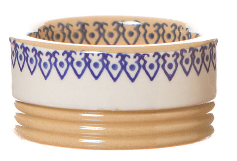 Butterpat Clematis spongeware pottery by Nicholas Mosse Pottery - Ireland - Handmade Irish Craft.