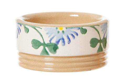 Butterpat Clover spongeware pottery by Nicholas Mosse Pottery - Ireland - Handmade Irish Craft