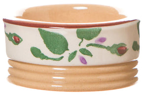 Butterpat Fuchsia spongeware pottery by Nicholas Mosse Pottery - Ireland - Handmade Irish Craft.