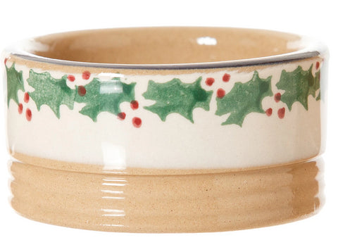 Butterpat Reindeer spongeware pottery by Nicholas Mosse Pottery - Ireland - Handmade Irish Craft