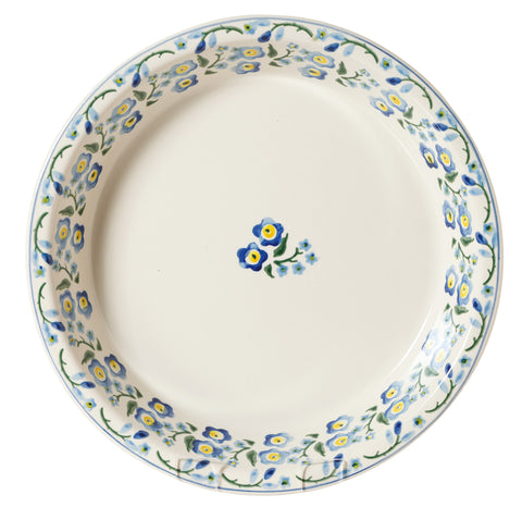 CLASSIC PIE DISH FORGET ME NOT